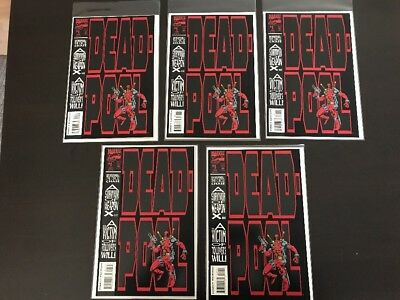 DEADPOOL THE CIRCLE CHASE #1, Mini-Series, lot 5, NM to NM+ great deal !!! D)