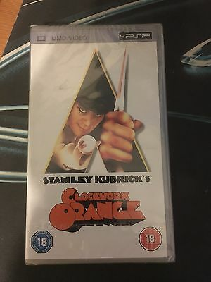 Stanley Kubricks  Clockwork Orange   (New and Sealed) Sony PSP UMD Video Movie