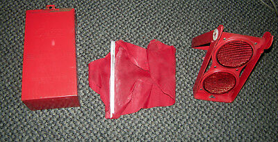 Vintage GROTE No. 70 Partial Flameless Flare Kit Reflector set - In original Tin