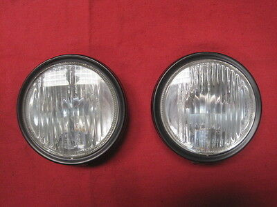 NOS  NLA  Porsche 914 (1970-1974)  Fog Light assembly PAIR  # 914-631-134-11 NEW