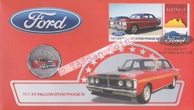 Australia - 2017 - Ford XY Falcon 1971 GT-HO Phase 3 PNC/FDC - Limited Ed. 9000
