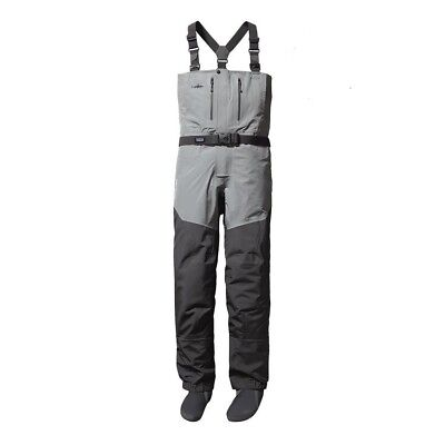 NEW Patagonia Men's Rio Gallegos Zip-Front Waders - Large Long - Forge Grey
