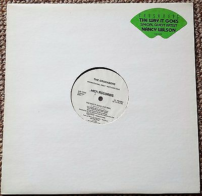 "The Crusaders......The Way It Goes    Promotional Only 12"" Single L33-1190"