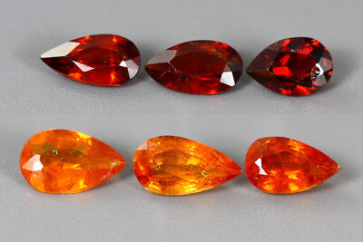 6.135Ct Aaa Fanta Orange Color 100% Nr Top Sparkling Mandarin Spessartite Garnet