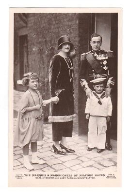 Rare Royalty Postcard. GEORGE OF BATTENBERG 2nd MARQUESS OF MILFORD HAVEN