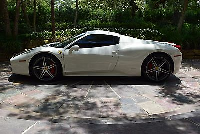 2015 Ferrari 458 Base 2dr Convertible 2015 Ferrari 458 Spider One Owner, PRISTINE, WITHOUT BLEMISH