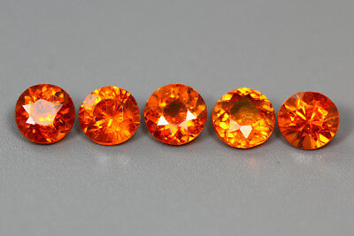 3.170Ct Aaa Fanta Orange Color 100% Nr Top Sparkling Mandarin Spessartite Garnet