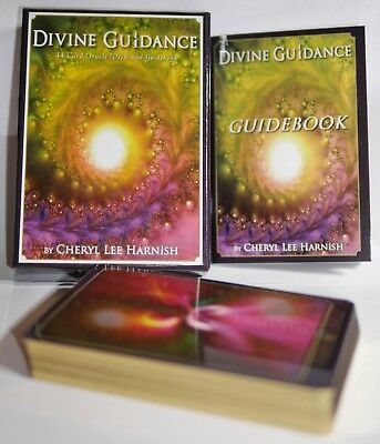 Divine Guidance - 44 Card Oracle Deck and Guidebook - Cheryl Lee Harnish Mint