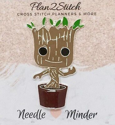 Groot Zinc Alloy Needle Minder for Cross Stitch/ Embroidery