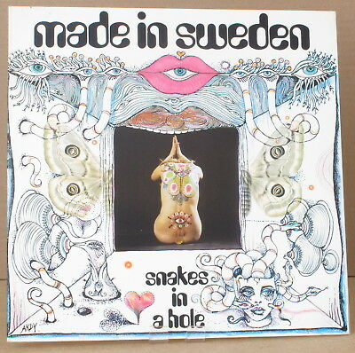 Sonet SLP 2504 ~ NM! ~ MADE IN SWEDEN ~ Snakes In A Hole ~ Archive copy!