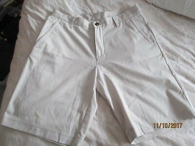 Adidas Mens Golf Shorts Size 34 Beige Brand New without Tags