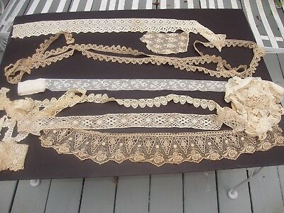 Antique Lace and Trims Lot #25 Another Wonderful Large Mixed Lot