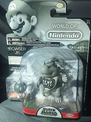New Special Edition Prototype Bowser Jr World Nintendo Toy Figure Super Mario Of
