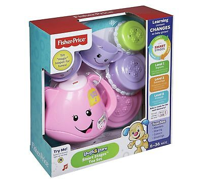 Fisher-Price Laugh and Learn Smart Stages Tea Set CDG08 - BRAND NEW - Free Post