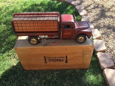 *Rare* Large Wood And Metal Coca Cola Truck! Very Nice!!