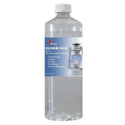 Firefly CLEAN Fuel Lamp Oil - 32 oz. - Smokeless & Virtually Odorless - Clean...