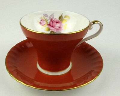 Vintage AYNSLEY BONE CHINA CUP AND SAUCER