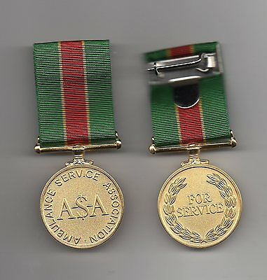 Ambulance Service Association Medal. **** Last One  Available ****