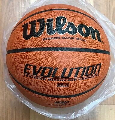 Wilson Evolution Official  Game Basketball WTB0516 Size 6 Intermediate - 28.5""