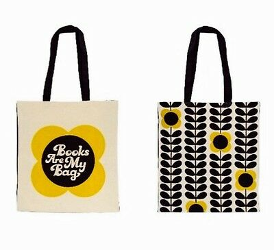 Collectable Orla Kiely limited edition Tote Bag Books are my Bag BAMB 2017