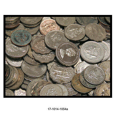 Mixed Lot of Bahamas Exchange Coins ($24 Face)