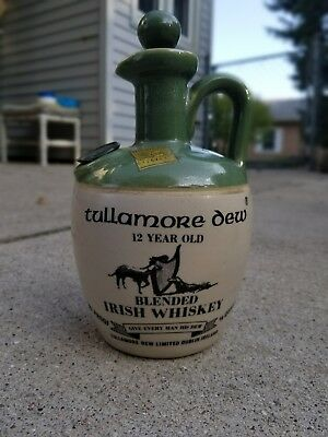 Tullamore Dew Irish Whiskey with Michigan Liquor tax stamp