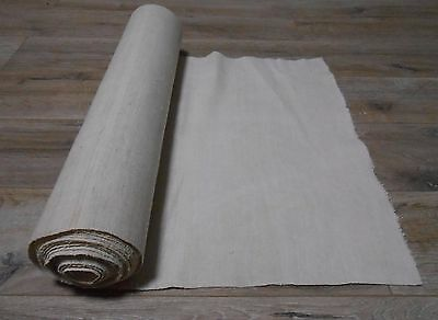 Antique Handwoven Thin Linen Fabric Cloth 0,5x6,3m 1920s Great condition