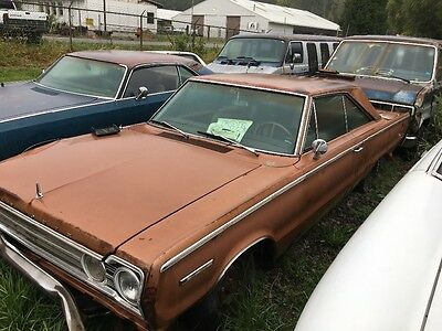 1967 Plymouth Other  1967 Plymouth Belvedere