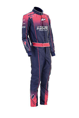 Kosmic Go Kart Race Suit CIK/FIA Level 2 Approved 2016 Style With Free Gloves