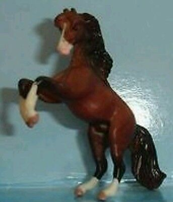 Breyer Chestnut REARING ANDALUSIAN Mini Whinnie of Pony Gals Socks N' Snips 7153