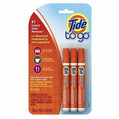 3 Pens Tide To Go Instant Stain Spot Remover 10ml each