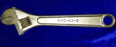 MAC Tools 8-inch AJ-8 Precision Adjustable Wrench (Crescent Style)