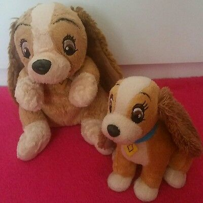 Lady And The Tramp Soft Toys