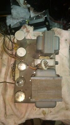 Power Supply for BC458-A military WW2 Ham radio transmitter in my other listing