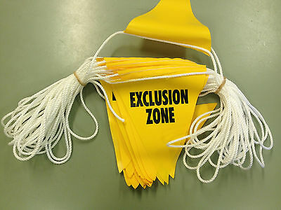 Safety Flags Bunting- Flags on Rope