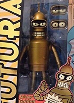 Futurama Talking Golden Bender 2014 Limited Edition BN