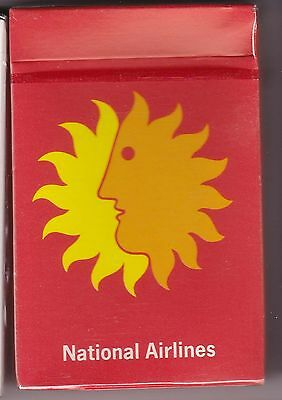 """National Airlines - Playing Cards - """"sun King"""" - 1970S"""