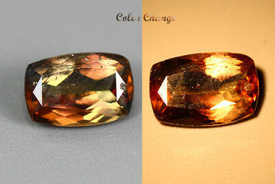 1.205 Ct  Earth Mined Unique Dazzling 100% Natural Dancing' Color Change Axinite