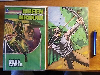 Green Arrow: The Longbow Hunters Graphic Novel with Original Art and Free Stylus