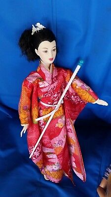 MATTEL PRINCESS OF JAPAN BARBIE DOLL COLLECTOR EDITION DOLLS OF THE WORLD ooak
