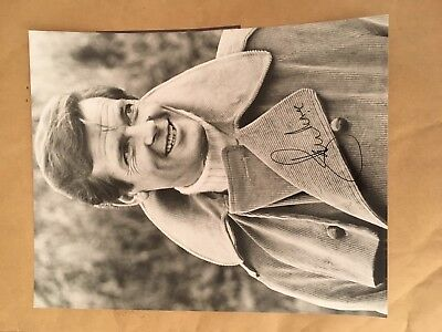 James Bond Roger Moore Authentic Autograph 10x8