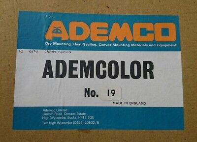Ademco Ademcolor Photographic mounting Paper