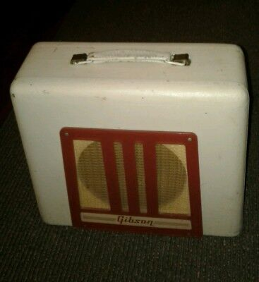 Vintage Gibson BR-9 Tube Amplifier For Repair