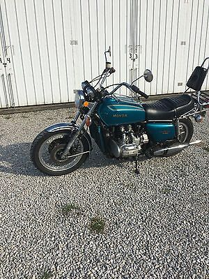 1975 Honda Gold Wing  1975 Honda Goldwing