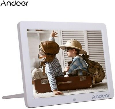 Andoer 12-inch HD LED Digital Picture Frame Wide Screen Digital Album High with