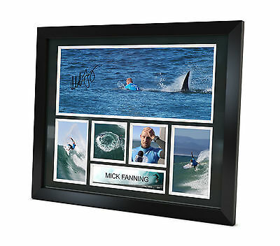 Mick Fanning Signed Photo Framed Surfing Memorabilia Limited Edition + COA