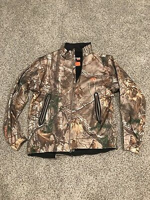 First Lite North Branch Soft Shell Jacket Real Tree Camo Men's XL