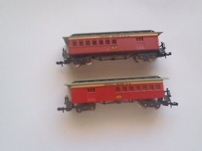 Model Trains N Scale 2 Old Timers Carriages Central Pacific