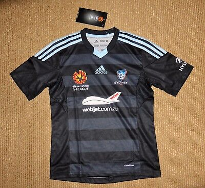 Adidas Sydney FC Away Players Jersey Youth Size 12 Brand New with tags