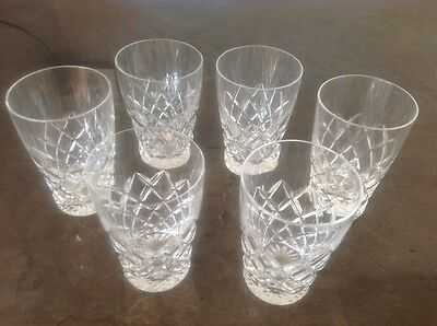 Waterford Crystal Cherry / Port glasses
